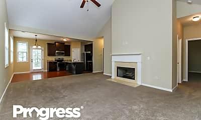 Living Room, 203 Creekside Pass, 1