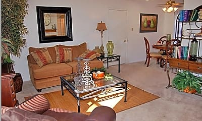 Living Room, Cedar Ridge Townhomes, 1