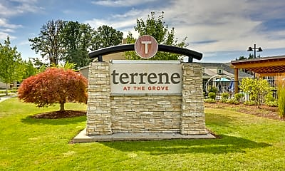 Community Signage, Terrene At The Grove, 2