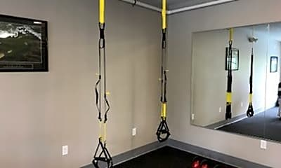 Fitness Weight Room, Shadow Pines, 2