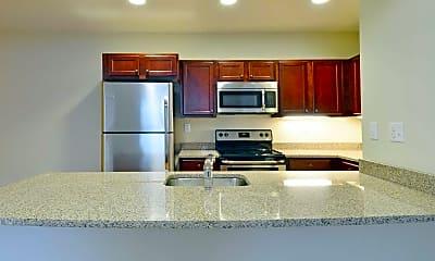 Kitchen, Sunset Lake Apartments, 1