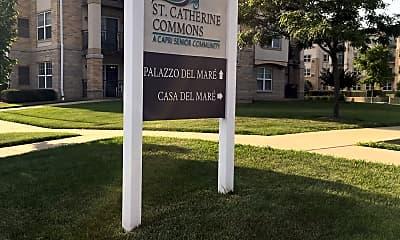 St Catherine Commons, 1