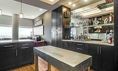 Kitchen, One Dallas Center, 2