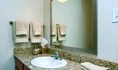 Bathroom, Upland Park Townhomes, 2