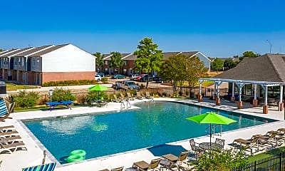Pool, Parcside Townhomes, 2