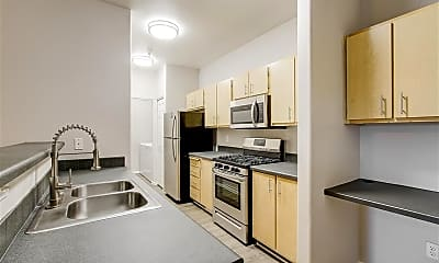 Kitchen, Capitol Place, 1