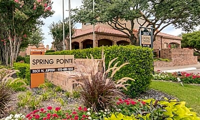 Community Signage, Spring Pointe Apartments, 0