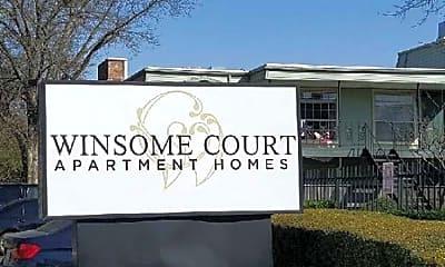Community Signage, Winsome Court, 1