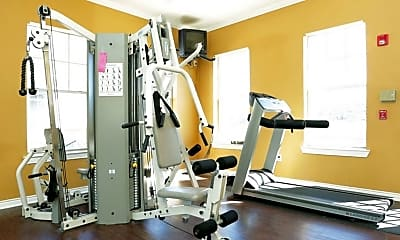 Fitness Weight Room, Madison Highlands, 1