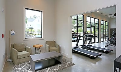 Fitness Weight Room, The Highlands, 2