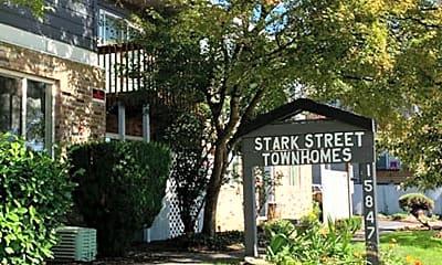 Community Signage, 15847 SE Stark St, 2
