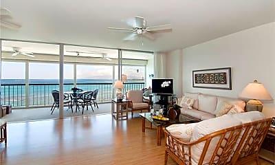 Living Room, 2877 Kalakaua Ave 1105, 1