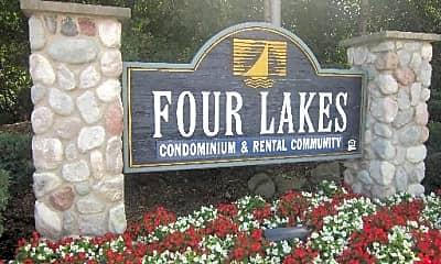 Community Signage, 1833 Four Lakes Ave 2D, 2