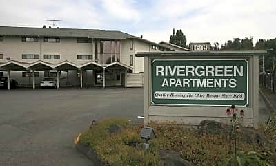 Patio / Deck, Rivergreen Estates Apartments, 2