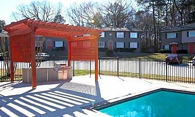 Pool, Broadway East Atlanta, 1
