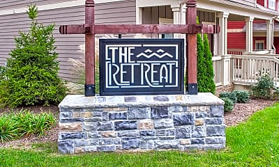 Community Signage, The Retreat at Blacksburg, 2