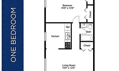Bedroom, 1 Jefferson St, 2