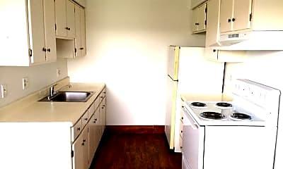 Kitchen, Terrace Apartments, 1