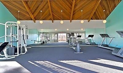 Fitness Weight Room, Mirabella, 1
