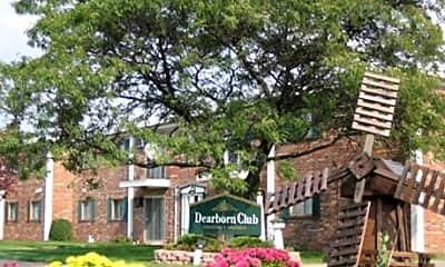 Community Signage, Dearborn Club, 0