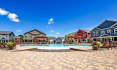 Pool, The Outpost - Per Bed Leases, 1