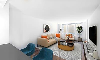 Living Room, 229 Chrystie Street, Unit  738, 0