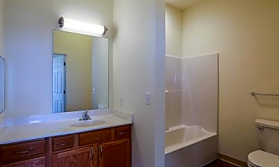 Bathroom, The Lofts at St. Joseph's, 2
