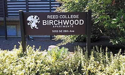 Reed College Birchwood Apartments, 1