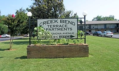 Community Signage, Creek Bend Terrace, 0