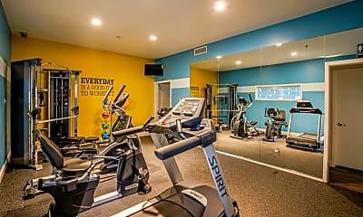 Fitness Weight Room, Brandon Mill, 2
