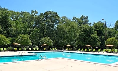 Pool, Staples Mill Townhomes, 1