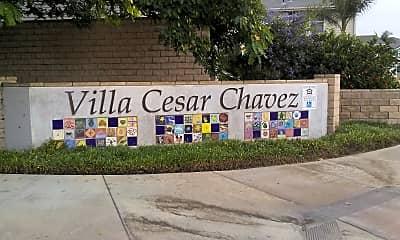 Villa Cesar Chavez, 1