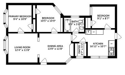 Building, 1403 N Wicker Park Ave, 2