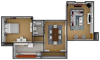 Bedroom, 440 Rhoads Ave, 2