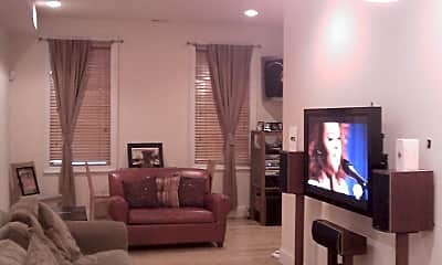 Living Room, 435 Manor Pl NW, 1
