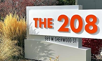 Community Signage, The 208, 2