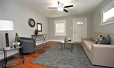 Living Room, 533 N Rural St, 1
