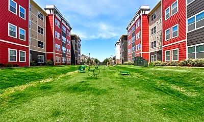 Recreation Area, Park East Student Living, 2