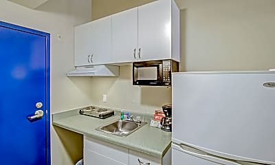 Kitchen, The Pacific Inn Apartments, 1