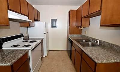 Kitchen, Silver Creek Apartments, 1