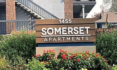 Community Signage, Somerset Apartments, 0