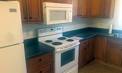 Kitchen, Big Tree Apartments, 1