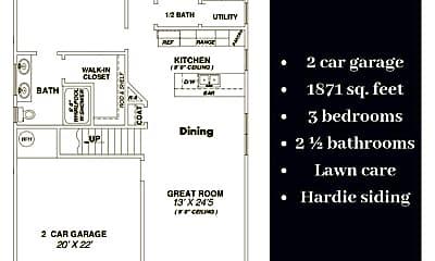 Bedroom, 5316 Roosevelt Rd, 2