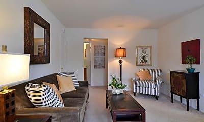 Living Room, Creek Village Apartments, 1