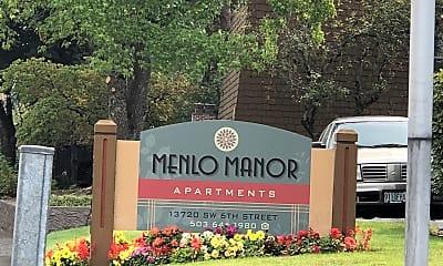 Menlo Manor, 1
