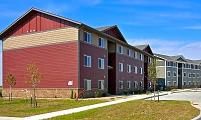 Building, The Flats At Southwest Crossing, 1