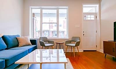 Living Room, 1519 S Newkirk St, 0