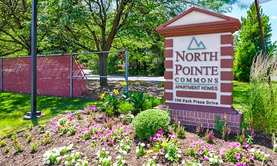 Community Signage, North Pointe Commons, 2