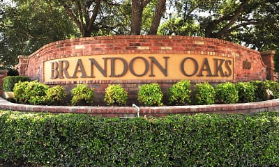 Community Signage, Brandon Oaks, 2