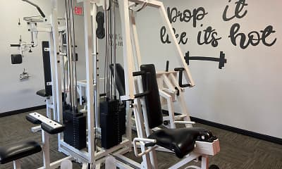 Fitness Weight Room, Contempo Lane, 2